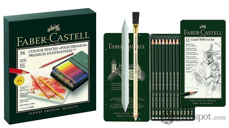 Faber-Castell Polychromos - 36 Color Pencils - Gift Box