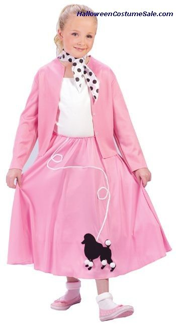 Our Childs Grease Costume Is The Ideal Poodle Skirt If You Are Looking For A Fun Family Themed Consider All