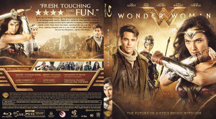 Wonder Woman Blu-ray Custom Cover