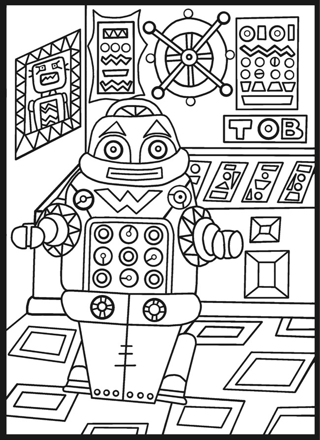 circuit board coloring pages