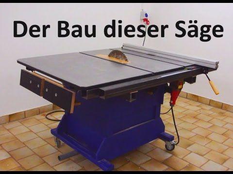 (42) große Tischkreissäge bauen | Tischfräse | Anleitung | DIY - YouTube