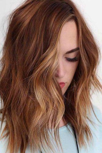 Auburn Hair Color Ideas And#8211; Light, Medium Andamp; Dark Auburn Hair Styles ★ See more: http://lovehairstyles.com/auburn-hair-color/