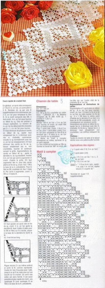 napperon  ovale 6