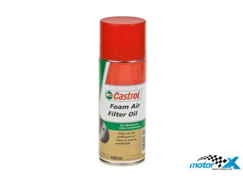 CASTROL SPRAY DO FILTRÓW POWIETRZA CASTROL FOAM AIR FILTER, 400ML