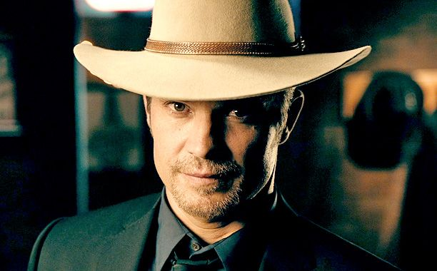 The first teaser puts the focus firmly on Timothy Olyphant's Raylan and Walton Goggins' Boyd. Watch EW's exclusive first look here: http://insidetv.ew.com/2014/10/24/justified-final-season-teaser/