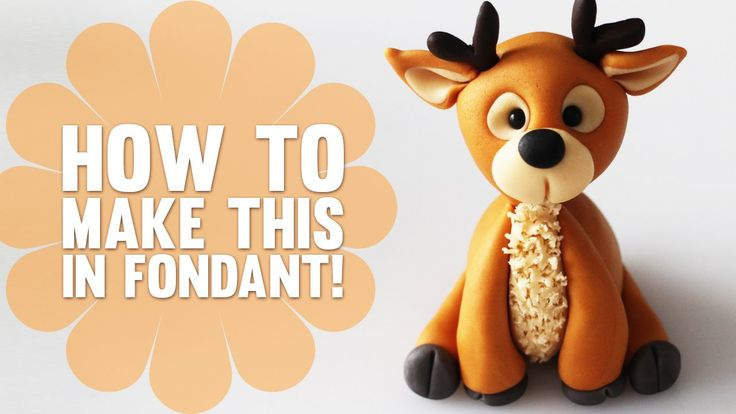 Super Speed Video - How to make a Reindeer Cake Topper