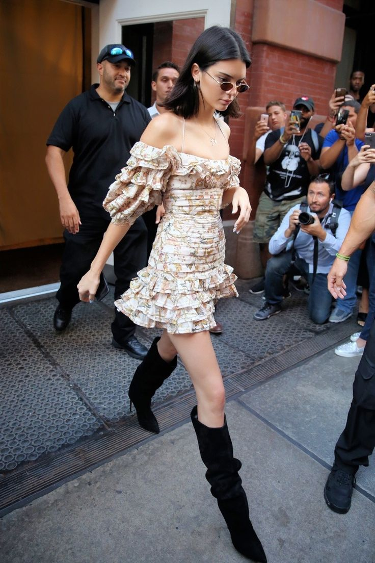 Kendall leaving The Mercer Hotel in Manhattan on August 1st, 2017.