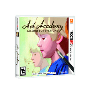 Let the artist in you shine with Art Academy. 1 will win this Nintendo 3DS game up for grabs. Enter by 12/24/12 at 11:59 pm EST to win.