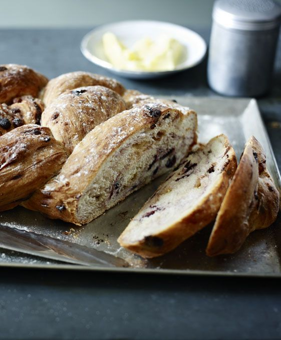 Rich chocolate and fruity cherries in a sweet loaf - a deliciously different teatime treat