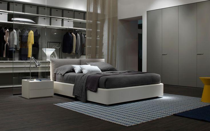 ... della camera da letto grigi e Mobili della camera da letto grigi