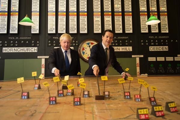 An excerpt from Anthony Seldon's David Cameron biography claimed that George Osborne finds his Tory leadership rival Boris Johnson 'plain annoying'. Happily the pair put any differences aside today as the Chancellor of the Exchequer paid a visit to Johnson's constituency.
