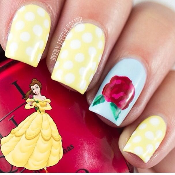 Belle Nail Art: Best 25+ Princess Nail Designs Ideas On Pinterest