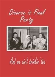 Image Search Results for divorce party invitations