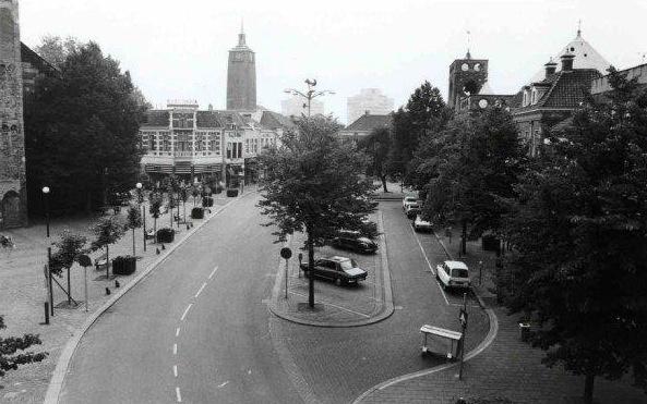 Enschede; Oude Markt jaren zestig