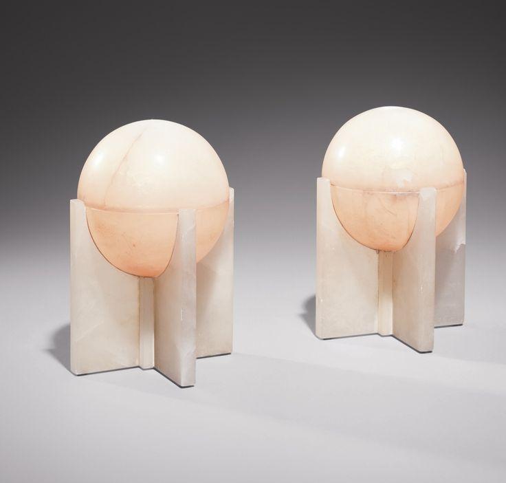 // Pierre Chareau (1883-1950) Paire de lampes 'LP998', vers 1930-1932