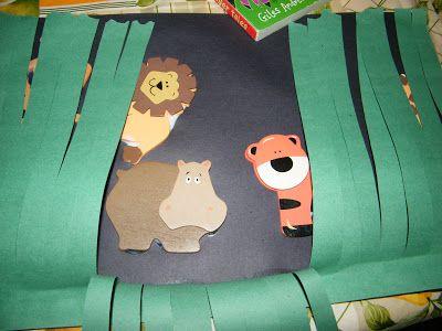 Peekaboo Jungle Animals Craft Jungle Theme Crafts
