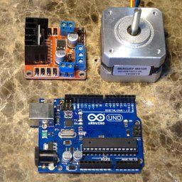 Arduino Stepper Motor Controller Tutorial on www.arduino-board.com