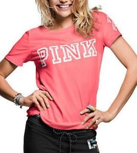 Victoria-039-s-Secret-PINK-T-shirt-Top-Size-M-New