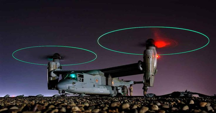 The Bell Boeing V-22 Osprey Military Aircraft | Military Machine
