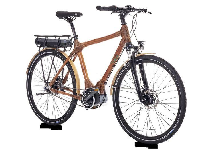 Bambus e-Bike mit Mittelmotor von My Boo - http://ebike-news.de/bambus-e-bike-mittelmotor-myboo/119366/