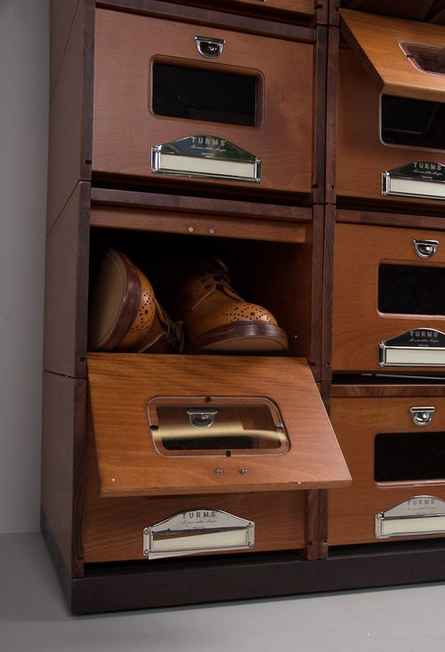 ♂ wood shoe boxes storage