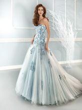 2017 Cor Da Moda Vestidos de Casamento Strapless Bordado Requintado Apliques Lace-up A Linha de Plissados Vestidos de Noiva Vestido de Novia alishoppbrasil