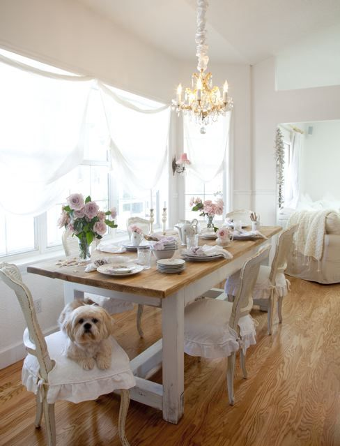 Shabby Chic Dining Room: 17 Best Images About Shabby Chic Dining Room On Pinterest