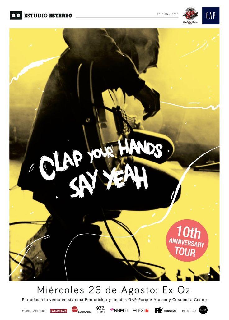 Clap Your Hands Say Yeah - 26 de agosto - Ex Oz