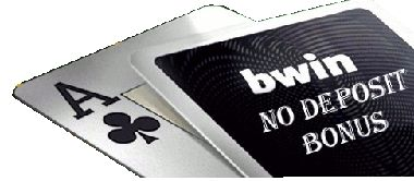 New BWIN No Deposit Poker Bonus. Get free poker cash without making a deposit on BWIN poker. This No Deposit Poker Bonus Code allows first time players on bwin poker to get a starting capital absolutely free. The No Deposit BWIN Poker Bonus is offeredby a trusted provider of free poker bankrolls! Read the full review of this no deposit poker bankroll at No Deposit Poker Bonus .Net
