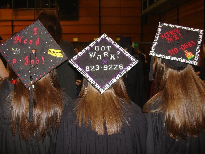 They Need A Job | Click Here For 22 Funny Graduation Caps