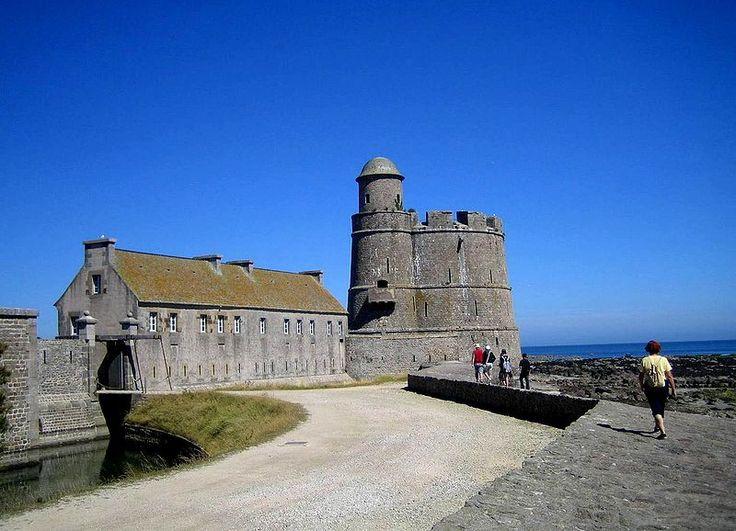 île de Tatihou. Le for Vauban. Basse-Normandie
