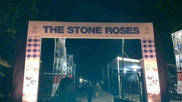 Stone Roses at Jakarta !