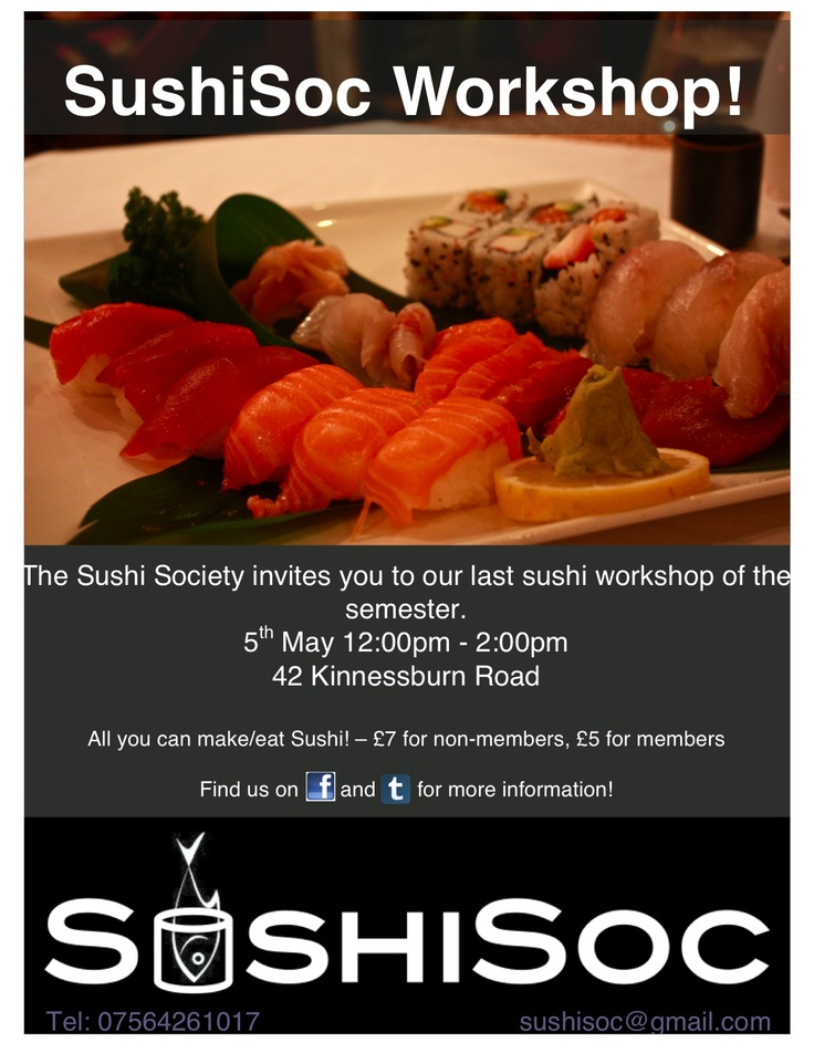 31 best Sushi images on Pinterest Sushi, Cook and Creativity - example of flyers