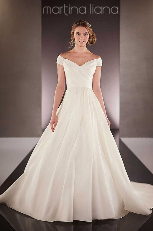 Best 25 satin wedding dresses ideas on pinterest satin for How much are martina liana wedding dresses