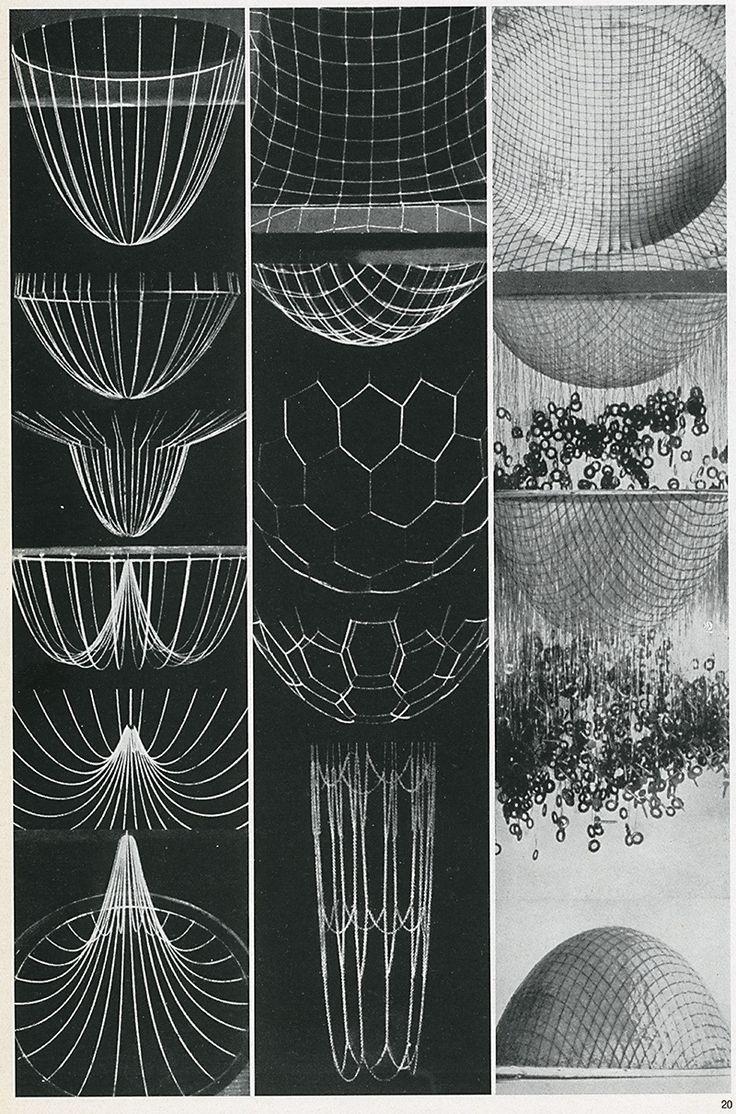 Frei Otto. Casabella 301 1966: 40 / Sacred Geometry <3: