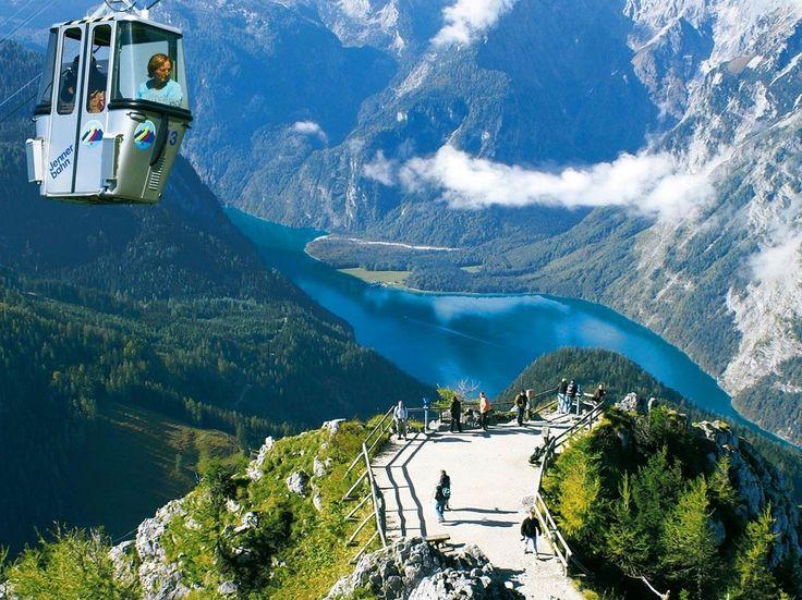 Niezwykle urozmaicony trekking w Alpach Berchtesgaden, obejmuje ...