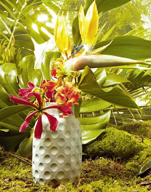Beton für Anfänger – eine Vase und ein Couchtisch, mit einfachen Anleitungen aus dem schönen Magazin CUT