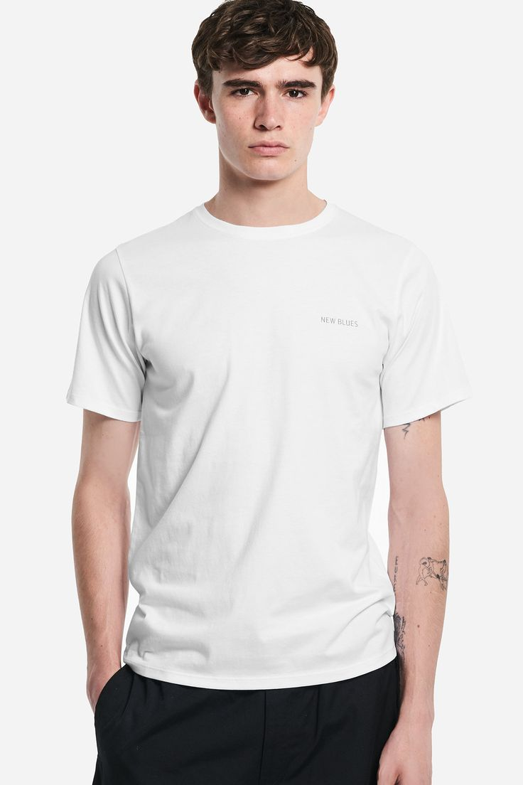 Tim Barber Tongue Out T-Shirt, White