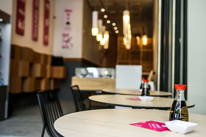 Mongo Sushi Spot  Αθήνα: Σκουφά 51, Κολωνάκι