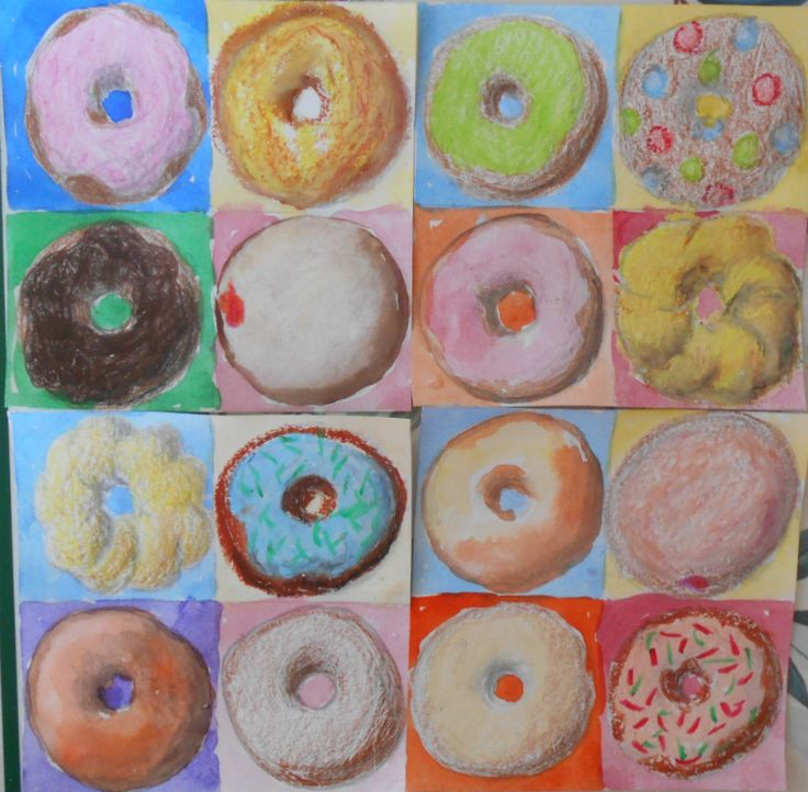 Well, I could say that the reason for making doughnut art is to practice tinting and shading to create the illusion of depth;     or I coul...
