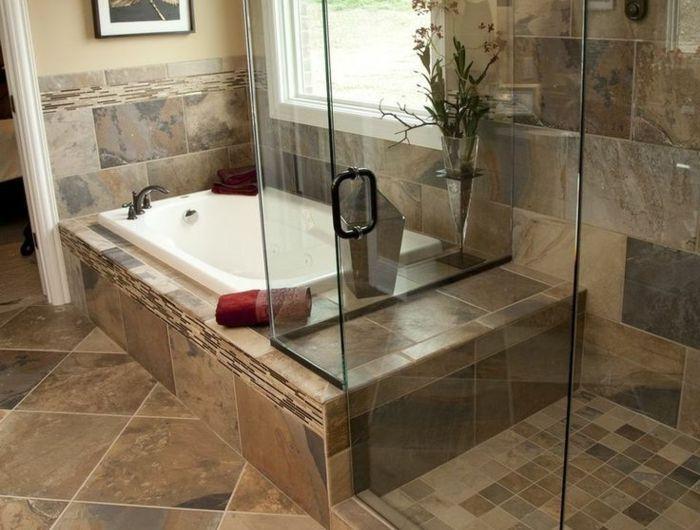 Les 25 meilleures idées de la catégorie Salle de bains taupe beige ...