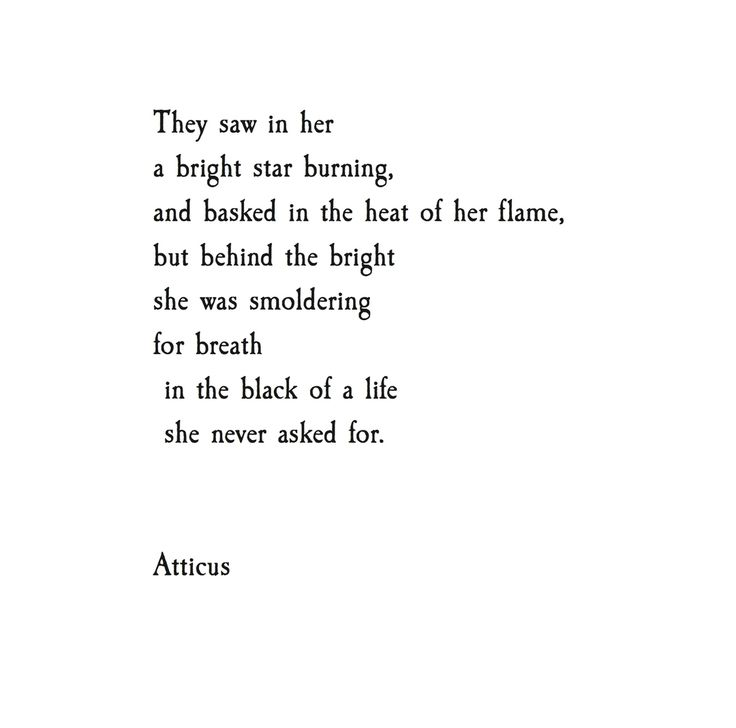 "7,151 Likes, 29 Comments - ATTICUS (@atticuspoetry) on Instagram: ""'Behind The Bright' #atticuspoetry #atticus #poetry #poem #loveherwld #star"""