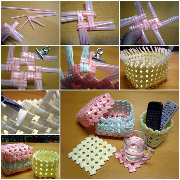 """<input class=""""jpibfi"""" type=""""hidden"""" >Straws are very common in our daily life. Most people only use straws as a convenient way for drinking fluid. In fact, they have other uses. This creativeDIY project to weave a variety of creative home storage baskets will certainly…"""