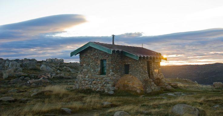 Seaman's stone hut, Snowy Mountains