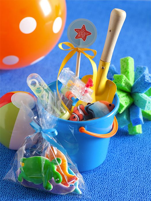 decoracao interiores maritima:Water Party Favors