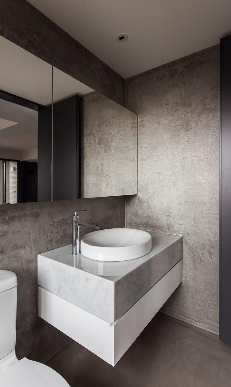 marble bathroom / WEI YI DESIGN ASSOCIATES | THE INITIATION