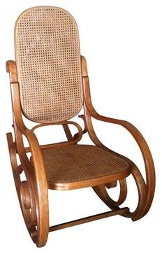Used Thonet Bentwood Rocking Chair tropical-rocking-chairs