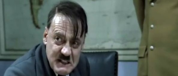 Hitler reacts to loss of WisconsinPersonalized Heroes, Re Subtitles Videos, Hitler React, Too Funny, Wisconsin Videos