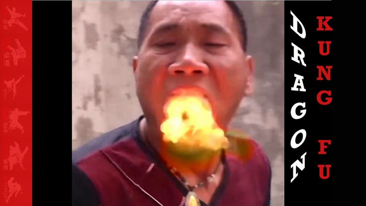 Dragon Kung Fu fire breathing master