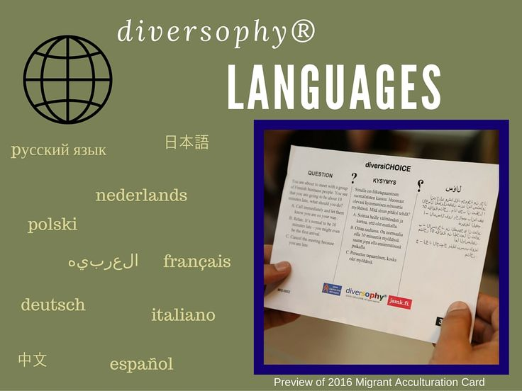 Culture and language are intertwined. How diverse will the world be with only a few common languages? Can culture survive?  #Language #Translation #Culture #diversophy #TrainingTool #Intercultural #Communications
